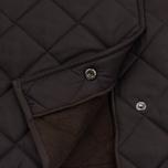 Мужская стеганая куртка Barbour Bardon Dark Brown фото- 5