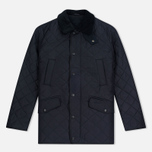 Мужская стеганая куртка Barbour Bardon Navy фото- 0