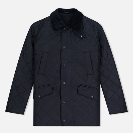 Barbour Bardon Men's Quilted Jacket Navy