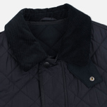 Мужская стеганая куртка Barbour Bardon Navy фото- 1