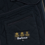Мужская стеганая куртка Barbour Bardon Navy фото- 6