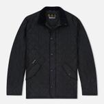 Мужская стеганая куртка Barbour Chelsea Sportsquilt Navy фото- 0