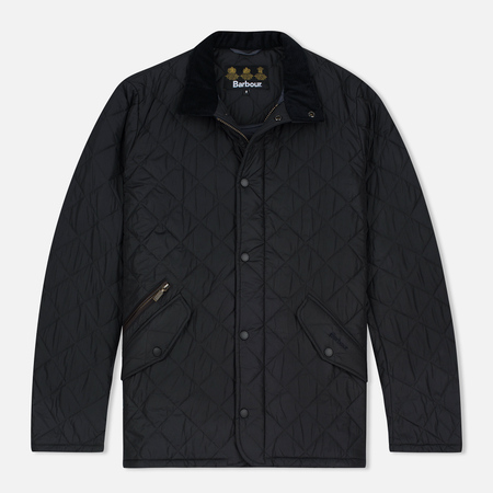 Barbour Chelsea Sportsquilt Men's Quilted Jacket Navy