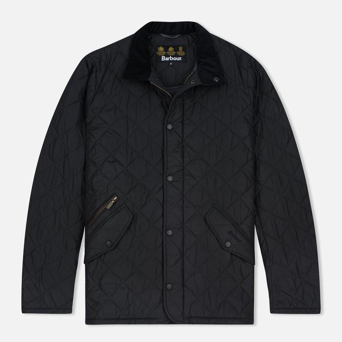 Мужская стеганая куртка Barbour Chelsea Sportsquilt Navy