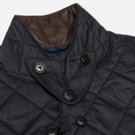 Мужская стеганая куртка Barbour Dept. (B) Beacon Sports Quilted Navy фото- 8