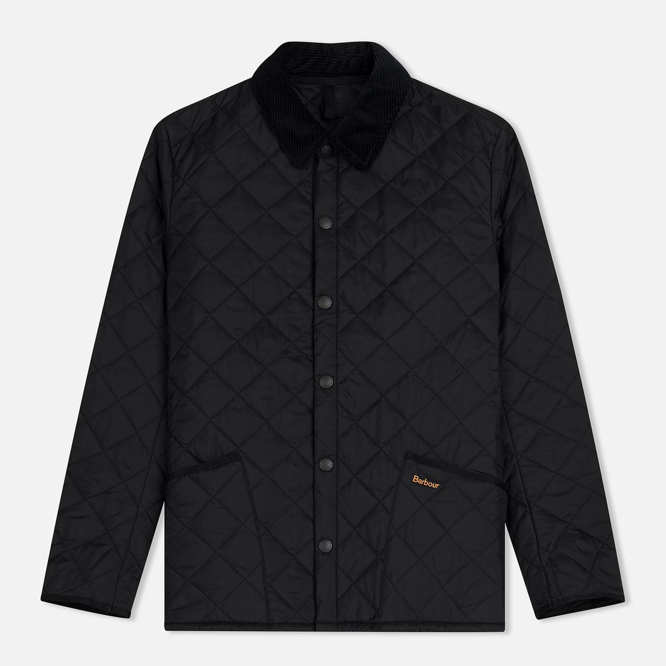 Мужская стеганая куртка Barbour Heritage Liddesdale Black