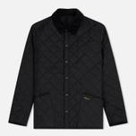 Мужская стеганая куртка Barbour Heritage Liddesdale Black фото- 0