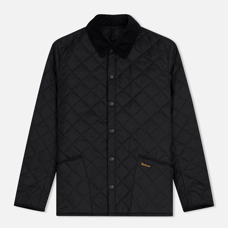 Мужская стеганая куртка Barbour Heritage Liddesdale Black