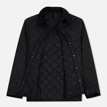 Мужская стеганая куртка Barbour Heritage Liddesdale Black фото- 1