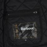 Мужская стеганая куртка Barbour Heritage Liddesdale Black фото- 3