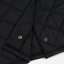 Мужская стеганая куртка Barbour Heritage Liddesdale Black фото- 5