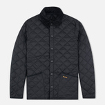 Мужская стеганая куртка Barbour Heritage Liddesdale Black фото- 0