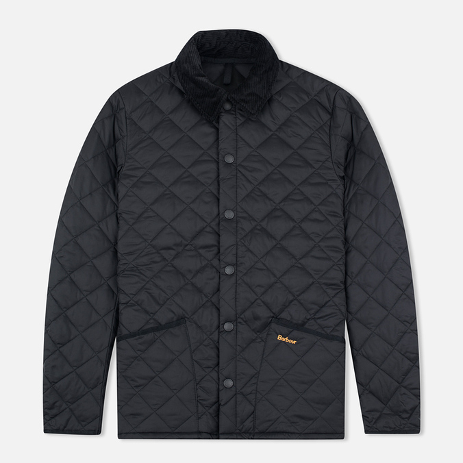 Barbour Heritage Liddesdale Men`s Quilted Jacket Black