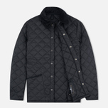Мужская стеганая куртка Barbour Heritage Liddesdale Black фото- 1