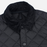 Мужская стеганая куртка Barbour Heritage Liddesdale Black фото- 2