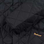 Мужская стеганая куртка Barbour Heritage Liddesdale Black фото- 4