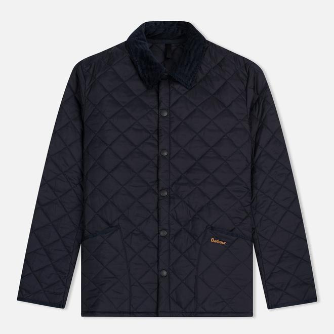 Мужская стеганая куртка Barbour Heritage Liddesdale Navy