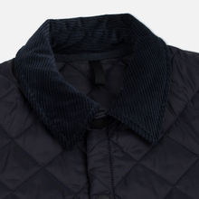Мужская стеганая куртка Barbour Heritage Liddesdale Navy фото- 3