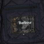 Мужская стеганая куртка Barbour Heritage Liddesdale Navy фото- 5