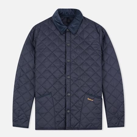 Barbour Heritage Liddesdale Men's Quilted Jacket Navy