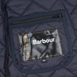 Мужская стеганая куртка Barbour Heritage Liddesdale Navy фото- 6