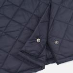 Мужская стеганая куртка Barbour Heritage Liddesdale Navy фото- 7