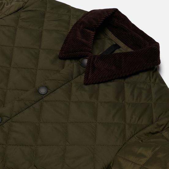 Мужская стеганая куртка Barbour Heritage Liddesdale Olive