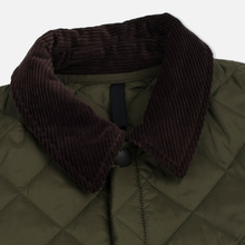 Мужская стеганая куртка Barbour Heritage Liddesdale Olive фото- 2