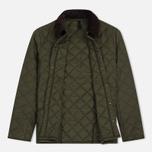 Мужская стеганая куртка Barbour Heritage Liddesdale Olive фото- 1