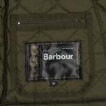 Мужская стеганая куртка Barbour Heritage Liddesdale Olive фото- 3