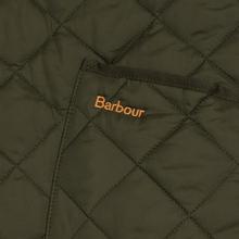 Мужская стеганая куртка Barbour Heritage Liddesdale Olive фото- 4