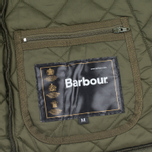 Barbour Heritage Liddesdale Men`s Quilted Jacket Olive photo- 6