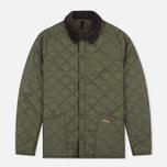 Мужская стеганая куртка Barbour Heritage Liddesdale Olive фото- 0