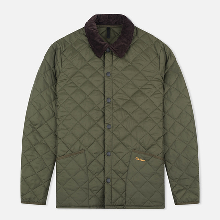 Barbour Heritage Liddesdale Men`s Quilted Jacket Olive