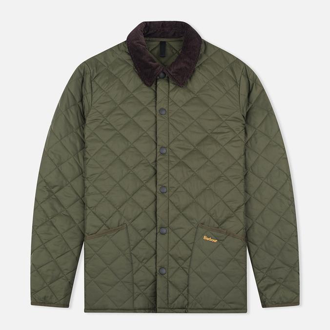 Barbour Heritage Liddesdale Men`s Quilted Jacket Olive