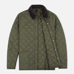 Barbour Heritage Liddesdale Men`s Quilted Jacket Olive photo- 1