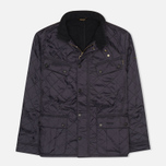 Мужская стеганая куртка Barbour International Ariel Navy фото- 0