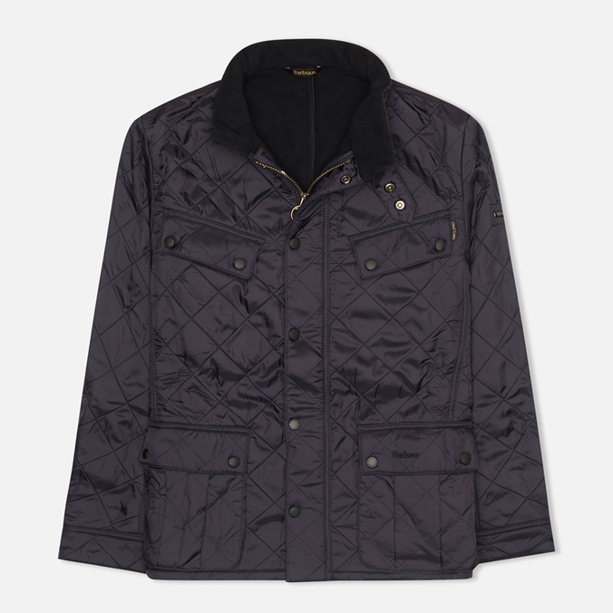Мужская стеганая куртка Barbour International Ariel Navy