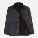 Мужская стеганая куртка Barbour International Ariel Navy фото- 1