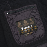 Мужская стеганая куртка Barbour International Ariel Navy фото- 7