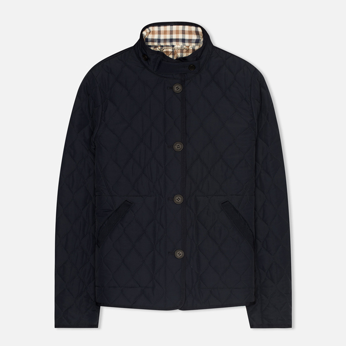 Aquascutum Stoney Women's Quilted Jacket Navy