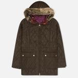 Женская стеганая куртка Barbour Tors Olive фото- 0