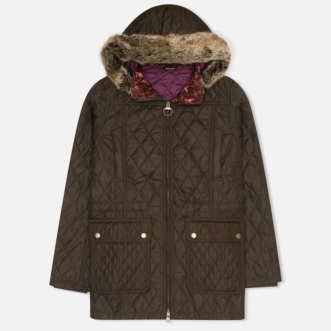 Женская стеганая куртка Barbour Tors Olive