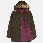 Женская стеганая куртка Barbour Tors Olive фото- 1