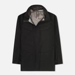 Мужская куртка ветровка Arcteryx Veilance Field Black фото- 0
