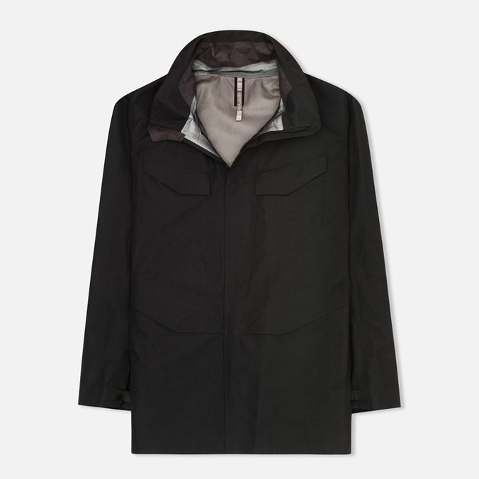 Мужская куртка ветровка Arcteryx Veilance Field Black