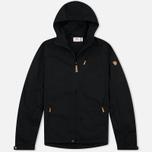 Мужская куртка ветровка Fjallraven Sten Black фото- 0