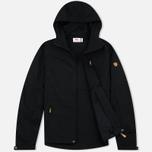 Мужская куртка ветровка Fjallraven Sten Black фото- 1