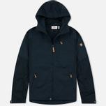 Мужская куртка ветровка Fjallraven Sten Dark Navy фото- 0