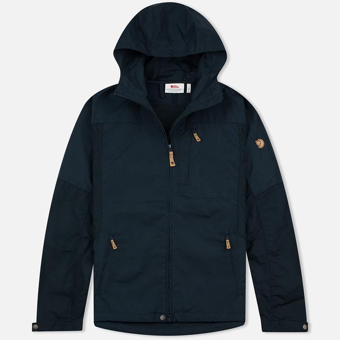 Мужская куртка ветровка Fjallraven Sten Dark Navy